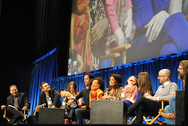 Muppets-with-Community-Cast-at-Paleyfest-photo-by-Live-the-Movies.jpg