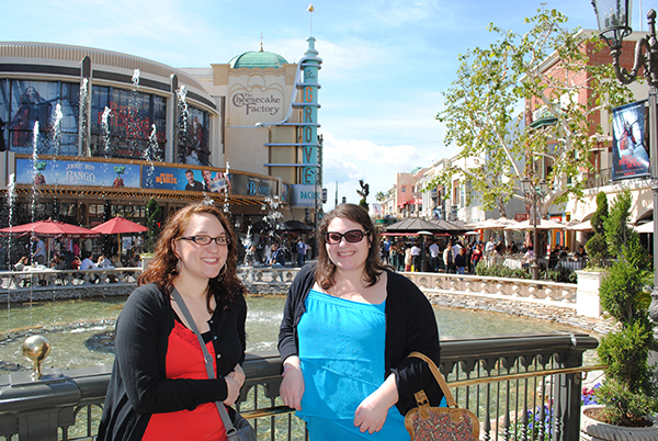 Christina-LeBlanc-Alex-Poulin-on-bridge-at-The-Grove-from-The-Hills-Live-the-Movies.jpg