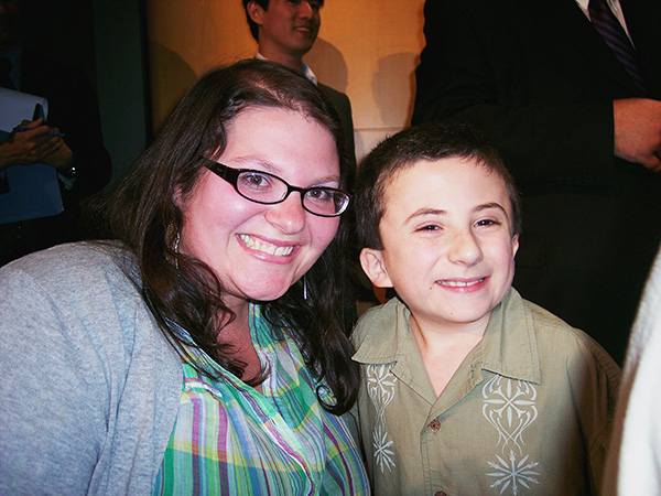 Christina-LeBlanc-with-Atticus-Schaffer-of-the-Middle-at-Paley-Center.jpg