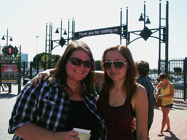 Christina-LeBlanc-with-Brandi-Cyrus-of-Frank-and-Derol-at-Bamboozle-2010.jpg