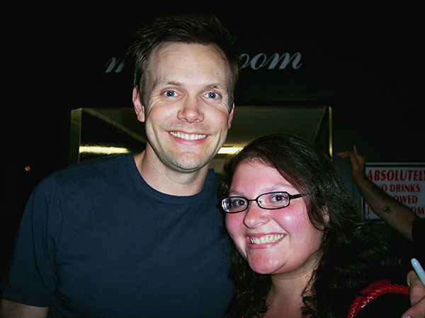 Christina-LeBlanc-with-Joel-McHale-of-the-Soup-photo-by-Live-the-Movies.jpg