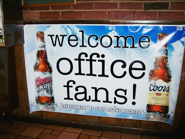 Welcome-Office-Fans-Sign-at-Poor-Richards-Scranton-by-Live-the-Movies.jpg