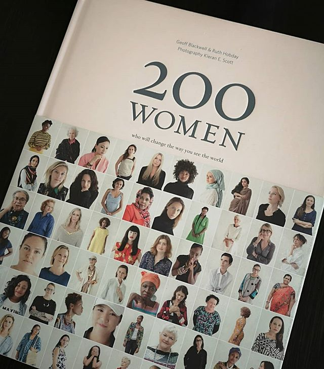 I'm very much looking forward to reading this book that my partner got me for my birthday. . . . #200women #changetheworld #girlsruntheworld #empoweringwomen #portraitphotography #photographerauckland #powerful #boudoirauckland #boudoir #womensportraits