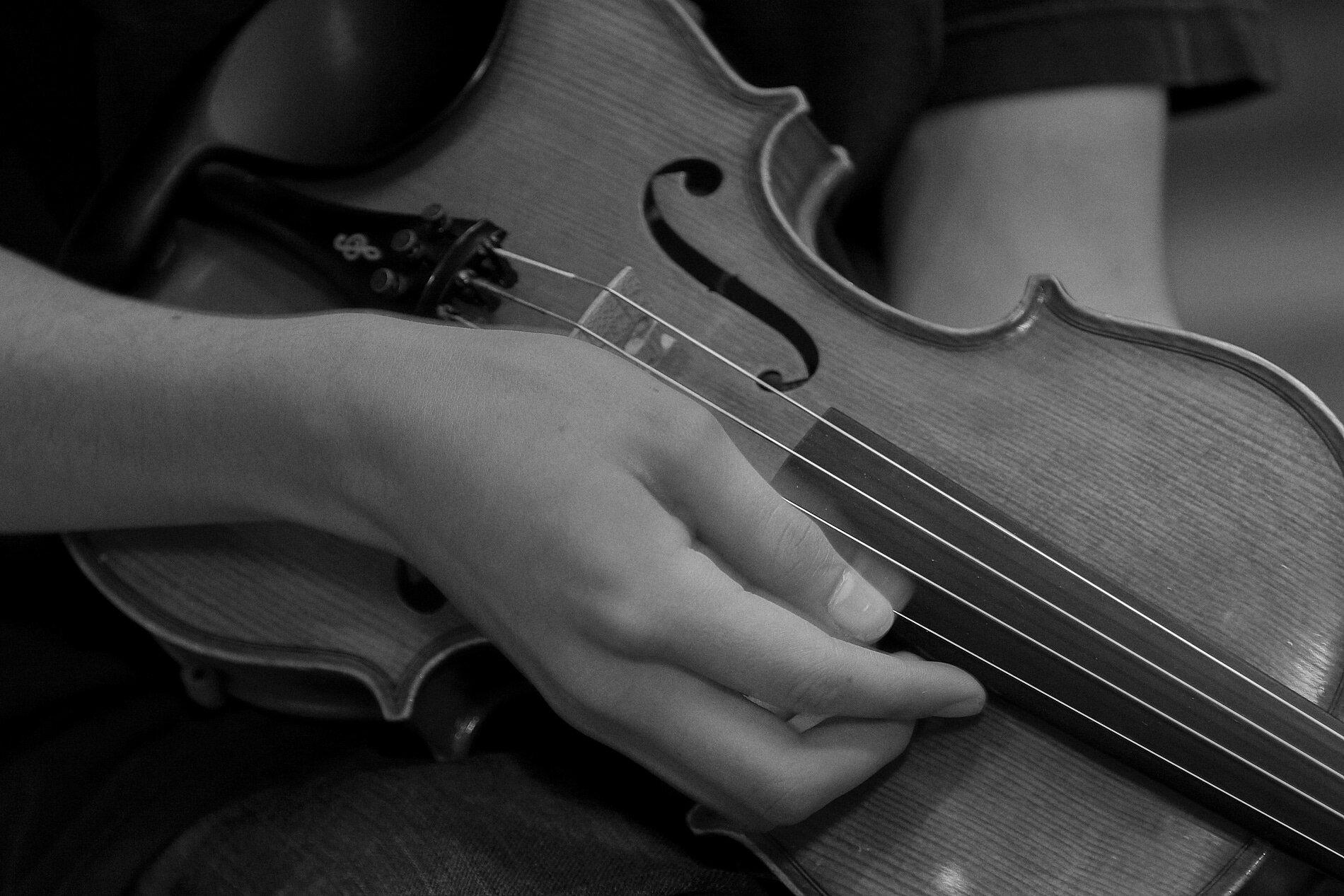 Violin Strummin'