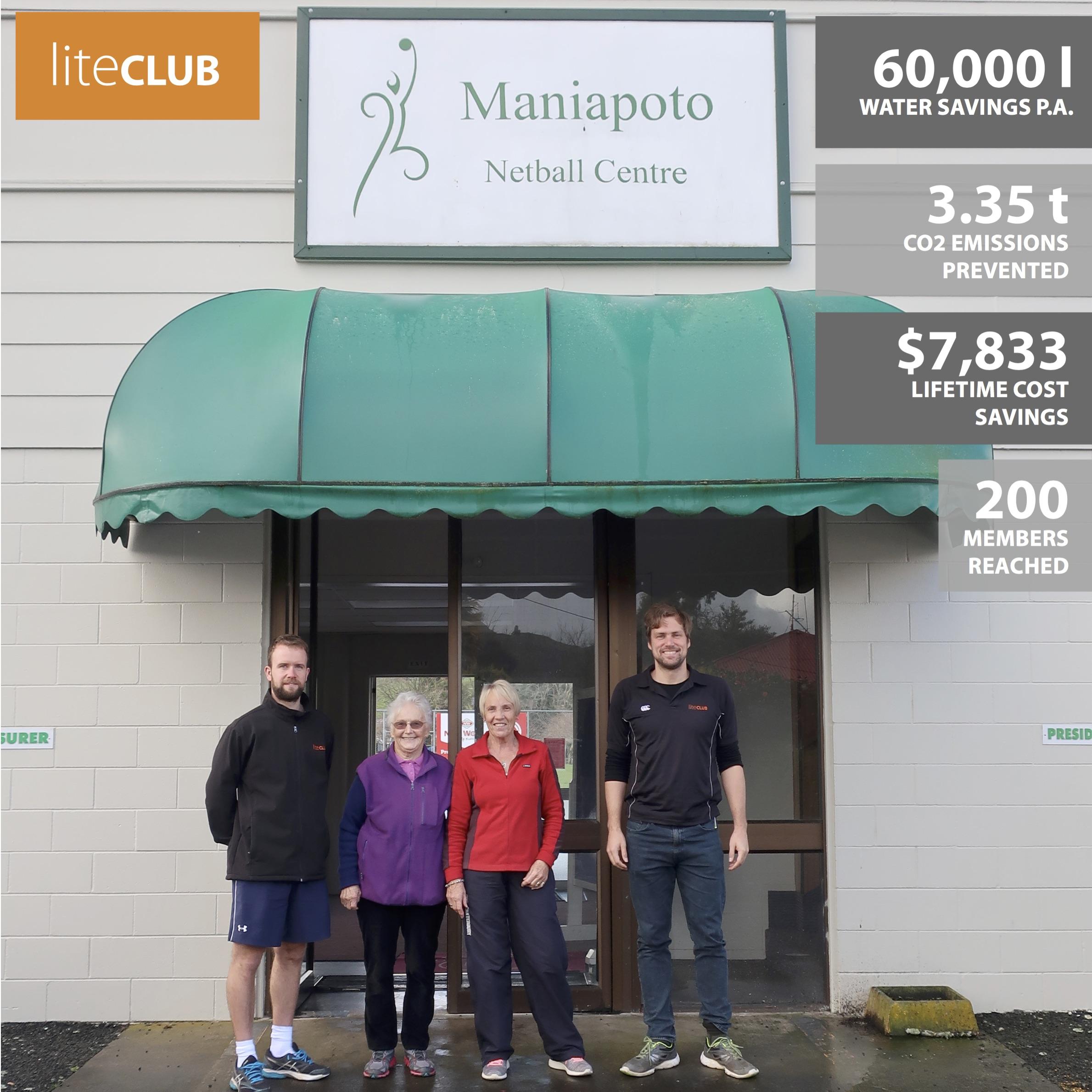 Maniapoto Netball Centre