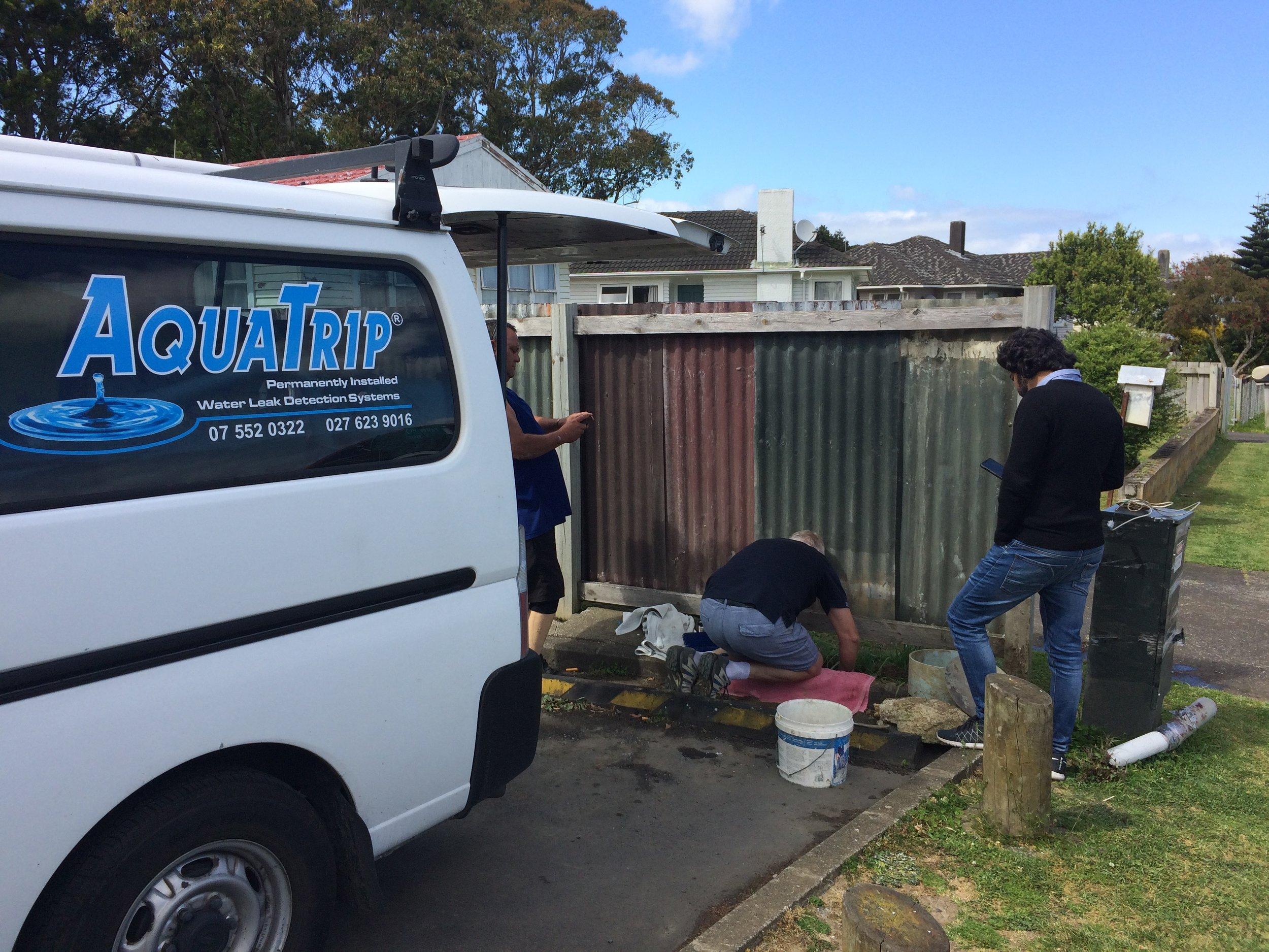 AquaTrip installation at Manukau Rovers RFC