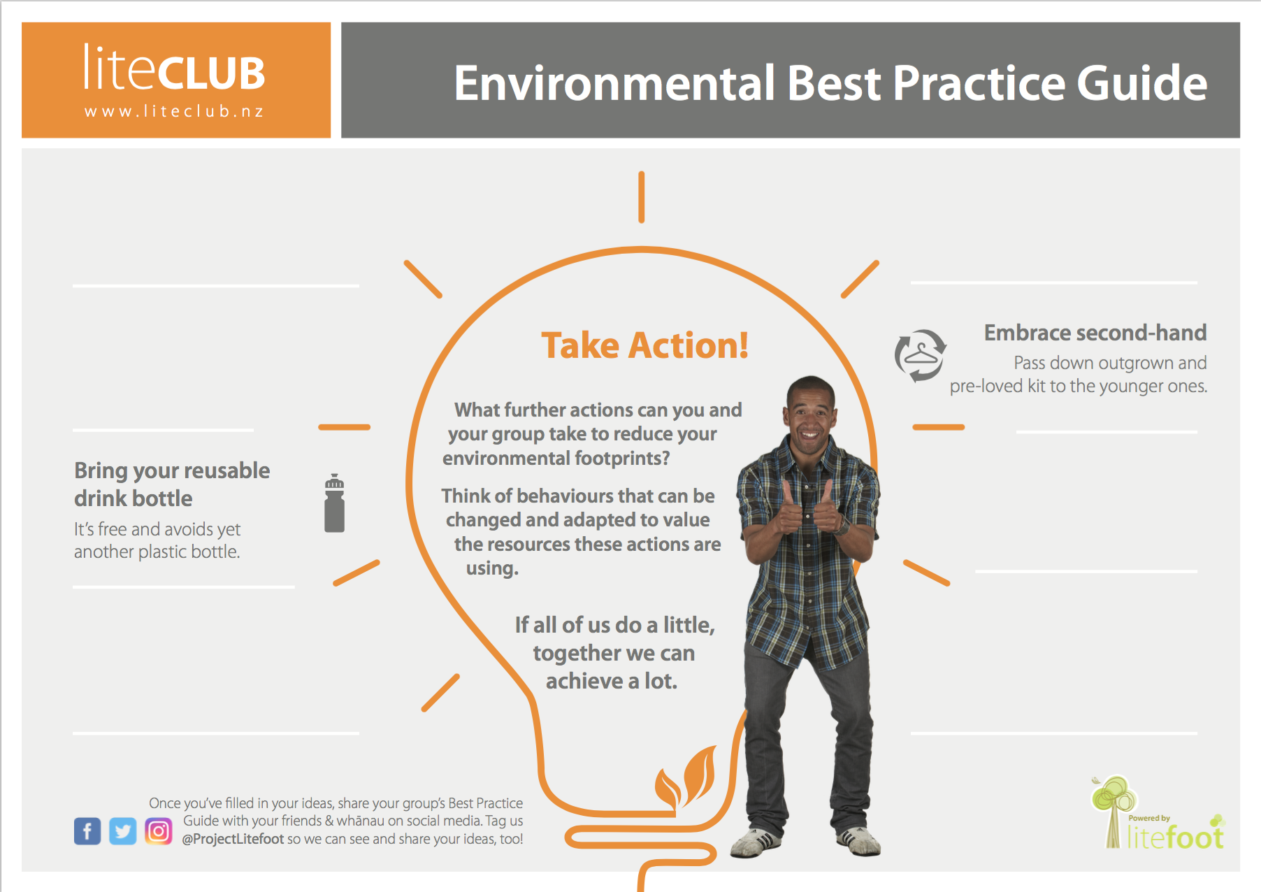 Fill In poster to engage members - Best Practice ideas