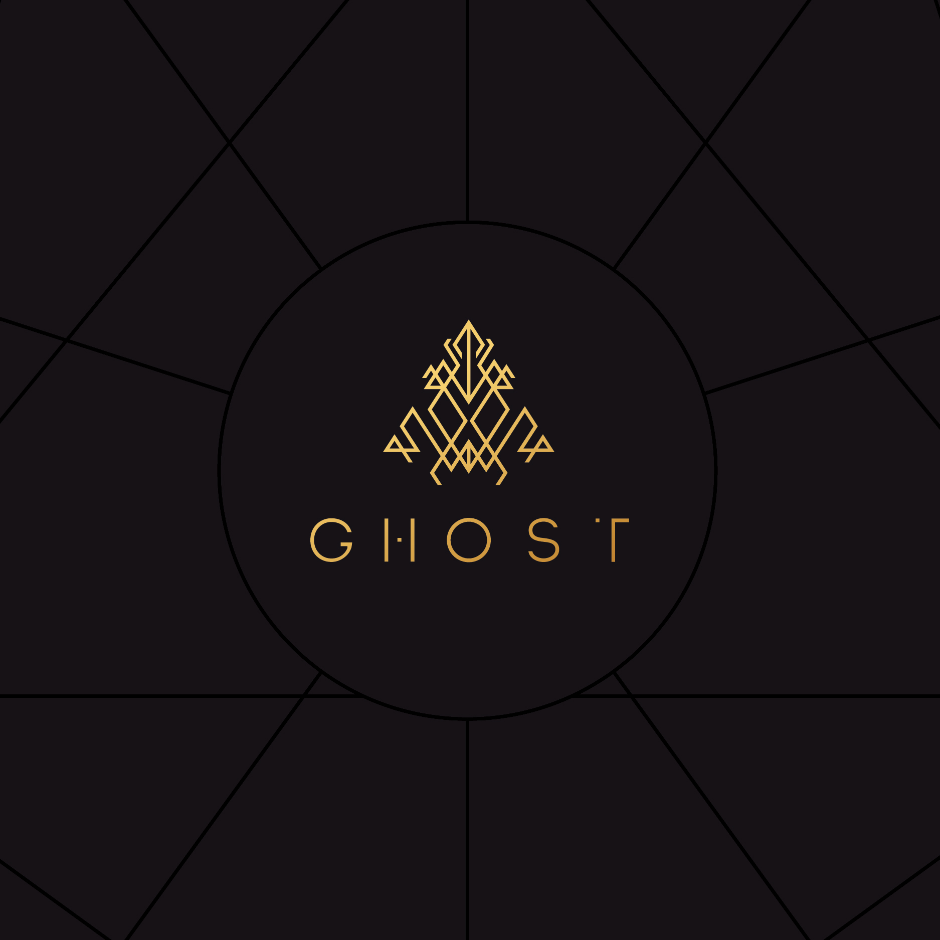 GHOST - Hey that's us! We needed strong branding too. What else would you expect?