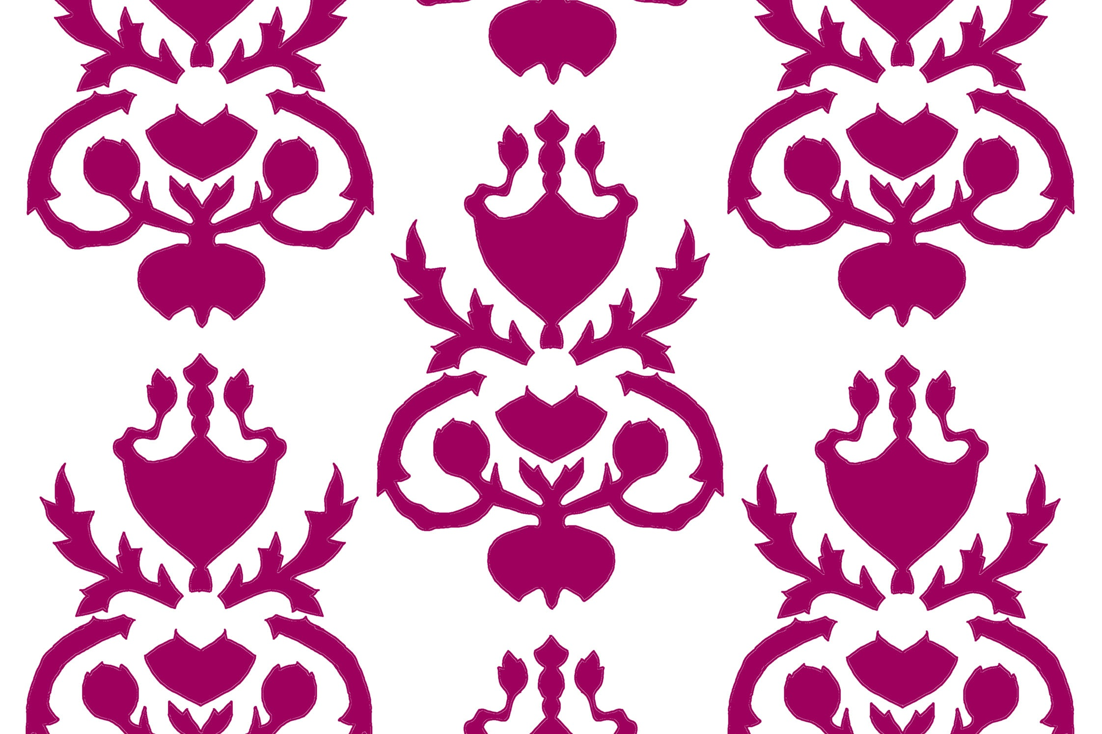 Jennifer McElwee. Wallpaper Thin (fragment). Design adapted from drawing room wallpaper in the home of Mr and Mrs Mars Buckley, Beaulieu, Toorak. 1880's.