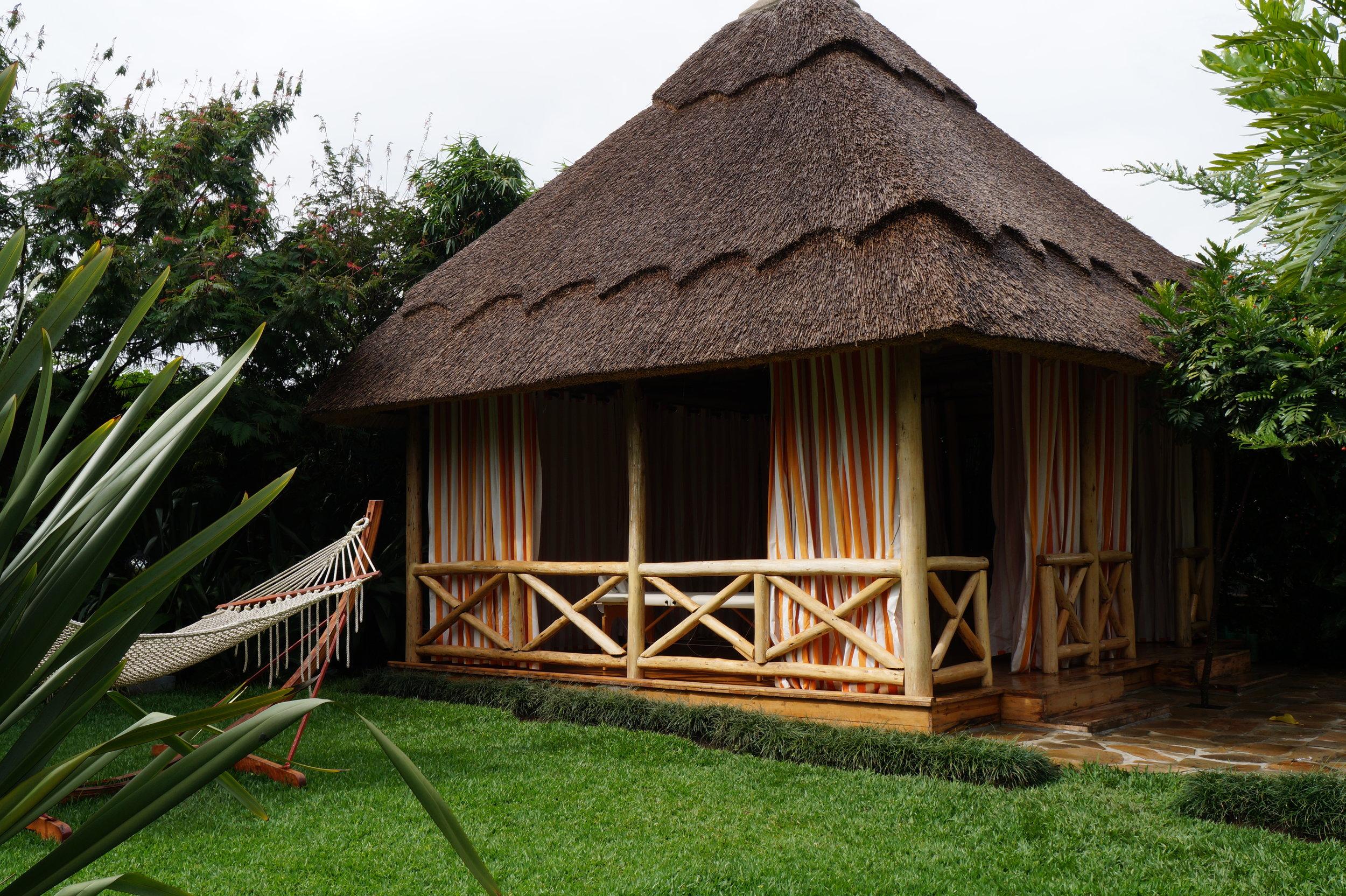 Double Bed Massage Hut