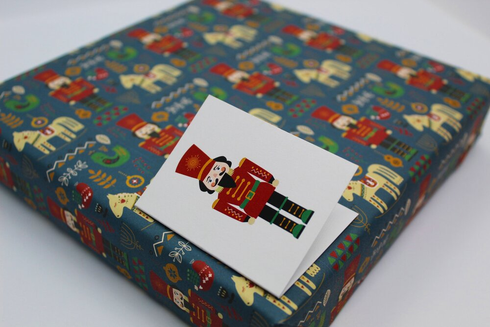 Nutcracker -  All of our designs are exclusive to Curlicue.