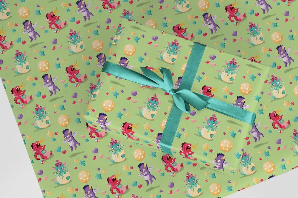 Baby Dragons -  Our cutest wrap for all your little monsters