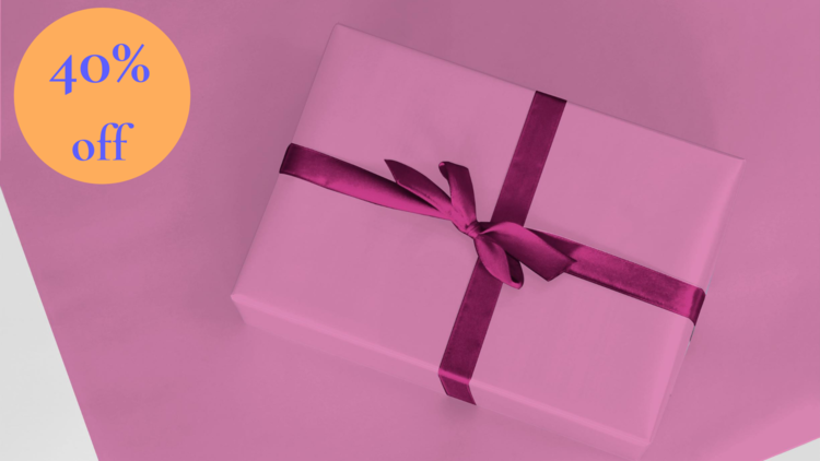 Berry Pink wrapping paper
