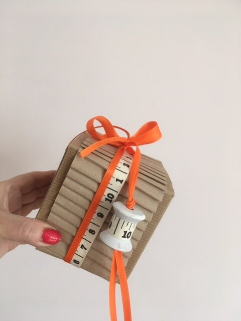 A fantastic way to put as much personality into your gift wrap as you do your gift.