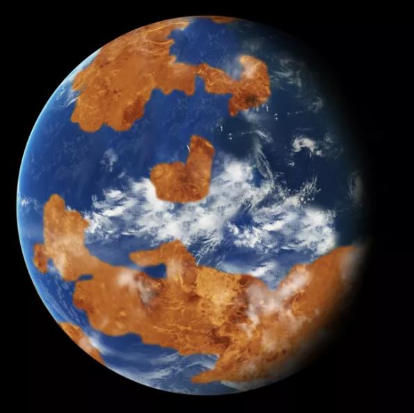 Photo Credit: NASA - Venus as it may be have been.  Look familiar?