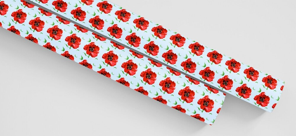 Remembering Roy Wrapping Paper