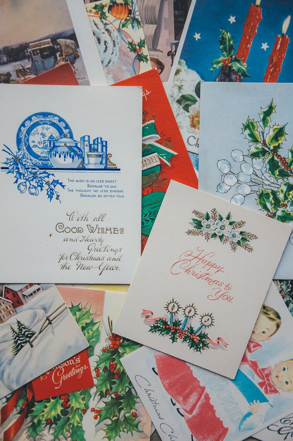 The UK Christmas Card market uses 33 million trees each year.
