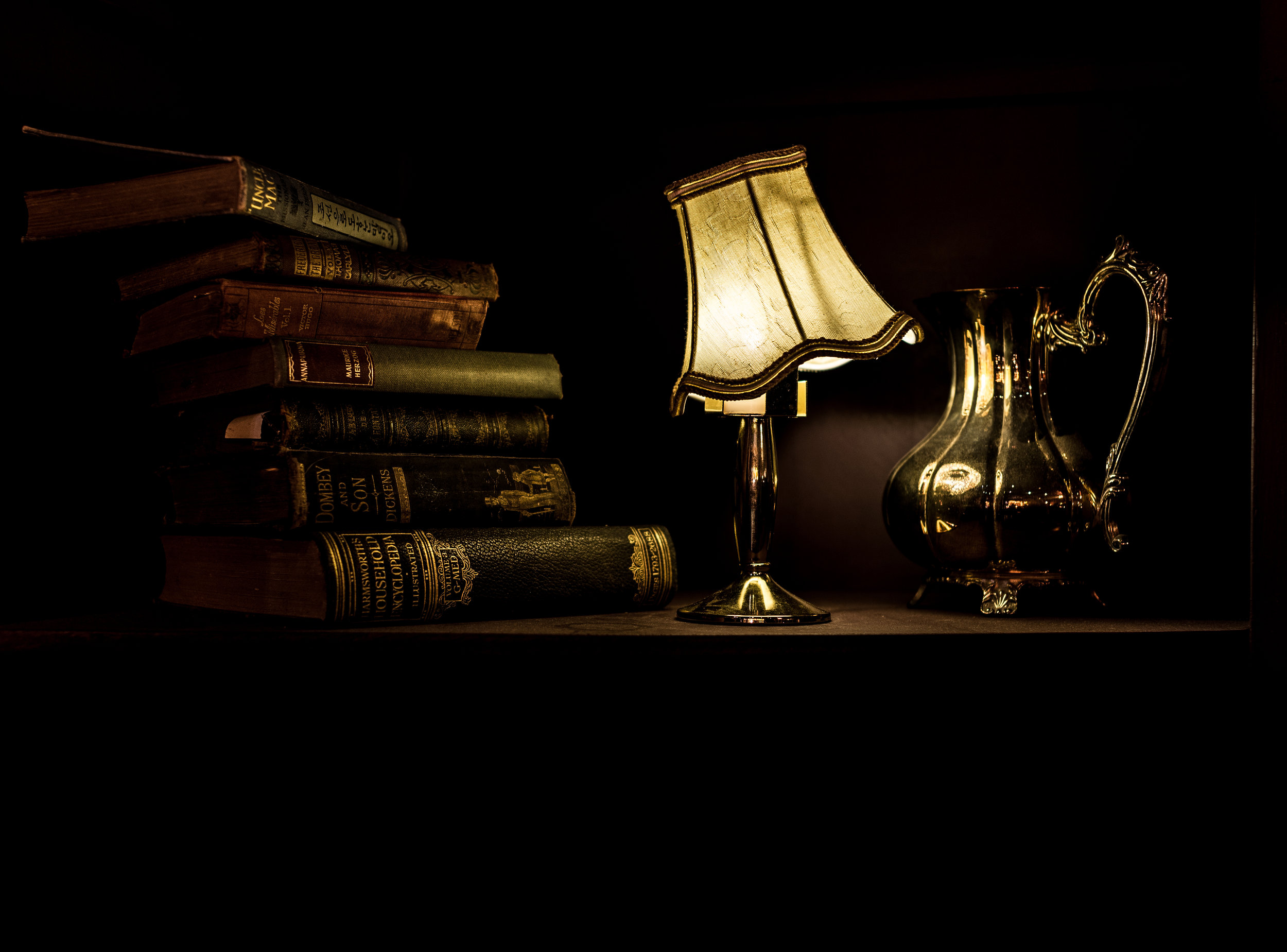 Library - In the Library, you will find a collection of fictitious works that should inspire the mood and themes of the World of Darkness.