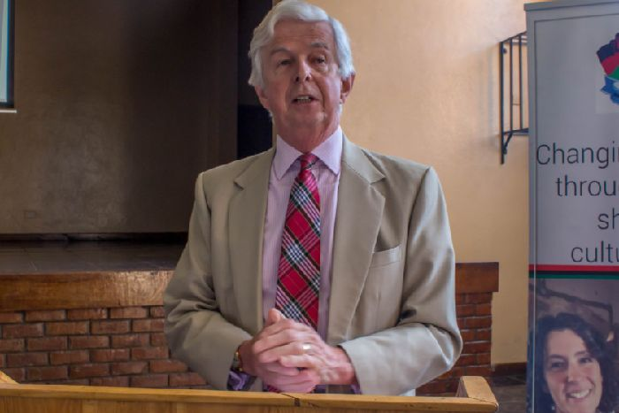 Sir Andrew Cubie appeals for help from Malawi