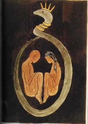 """Images extraites de """" L'analyse des visions"""" de Carl Gustav Jung"""