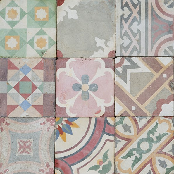 Maitland & Poate colour patchwork; photo credit: Maitland & Poate
