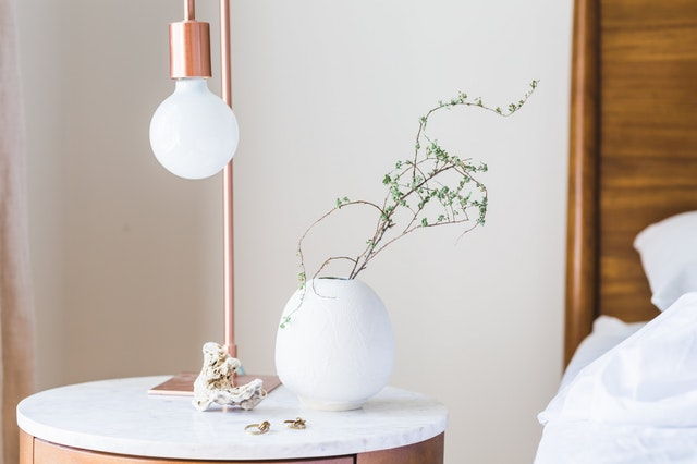 Update your industrial lamp with a porcelain bulb