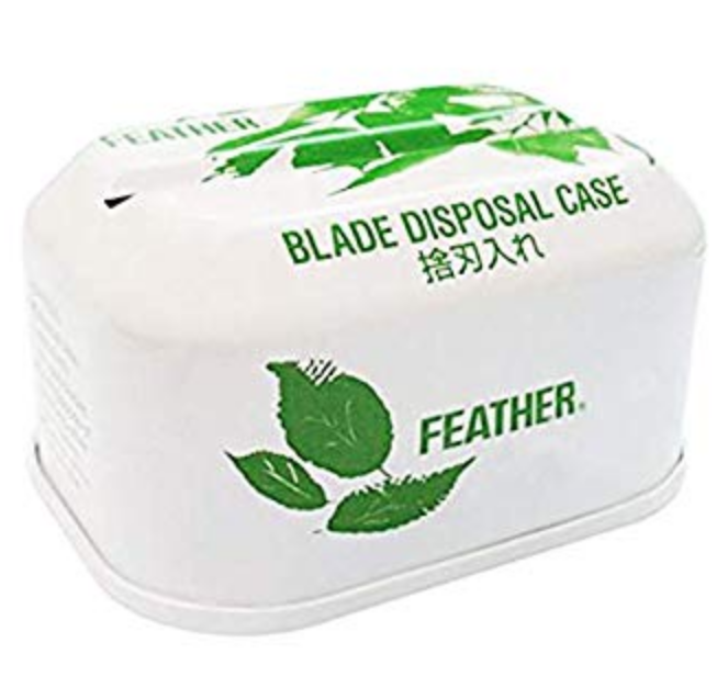 This is a blade bank for keeping your used blades safe before recylcing