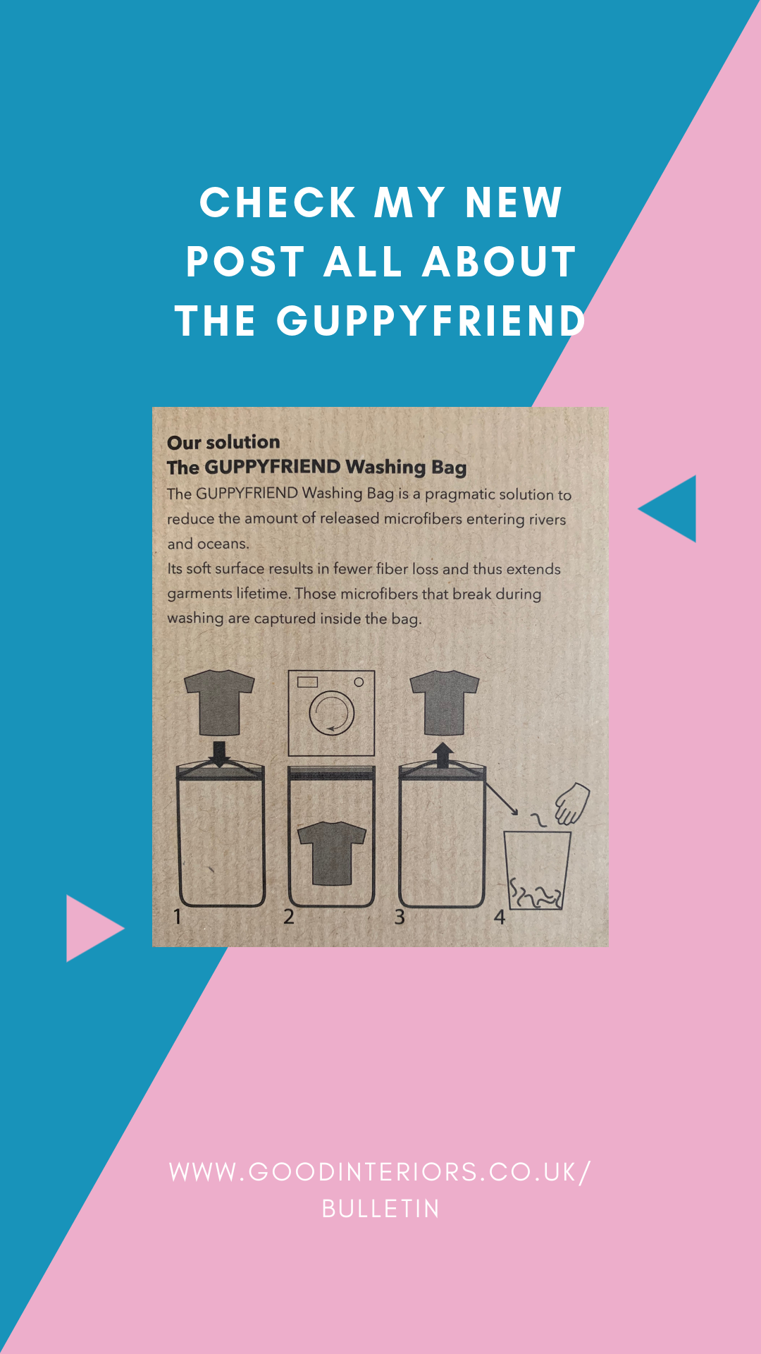 the Guppyfriend stops micro waste from entering our waterways