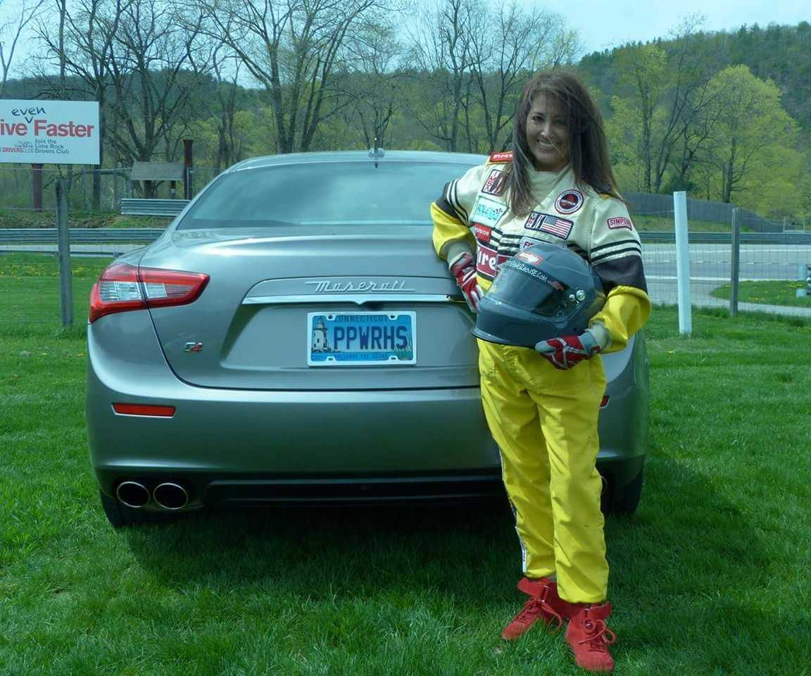 """Judy is quite an auto enthusiast- from the classics to muscle cars to supercars, and she participates as a designated driver in the """"Dream Cruise"""" for The Special Olympics every year. She is the currently the President of the Eastern Chapter of the Maserati Club (America's Oldest Chapter). Visit them at  themaseraticlub.com"""