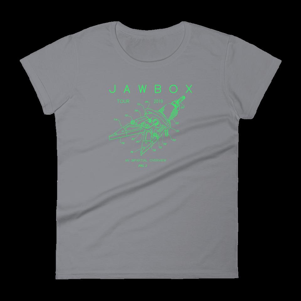 Jawbox 2019 Women's Tour Shirt