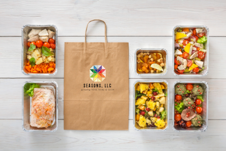 Prepared Meals - + Peruse our seasonal menu and place your order for Chef D by Monday at 8 pm. See order method and details on the menu.+ Pay for your order through PayPal, Venmo, Cash App or Credit Card. Our app id is Seasons Prepared Meals. + Be available for delivery or pick up your meals. Enjoy your Seasons prepared meals!