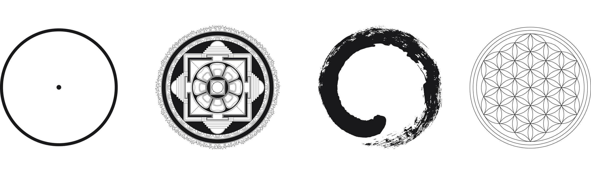 Circle, Kalachakra Mandala, Ensō, Flower Of Life