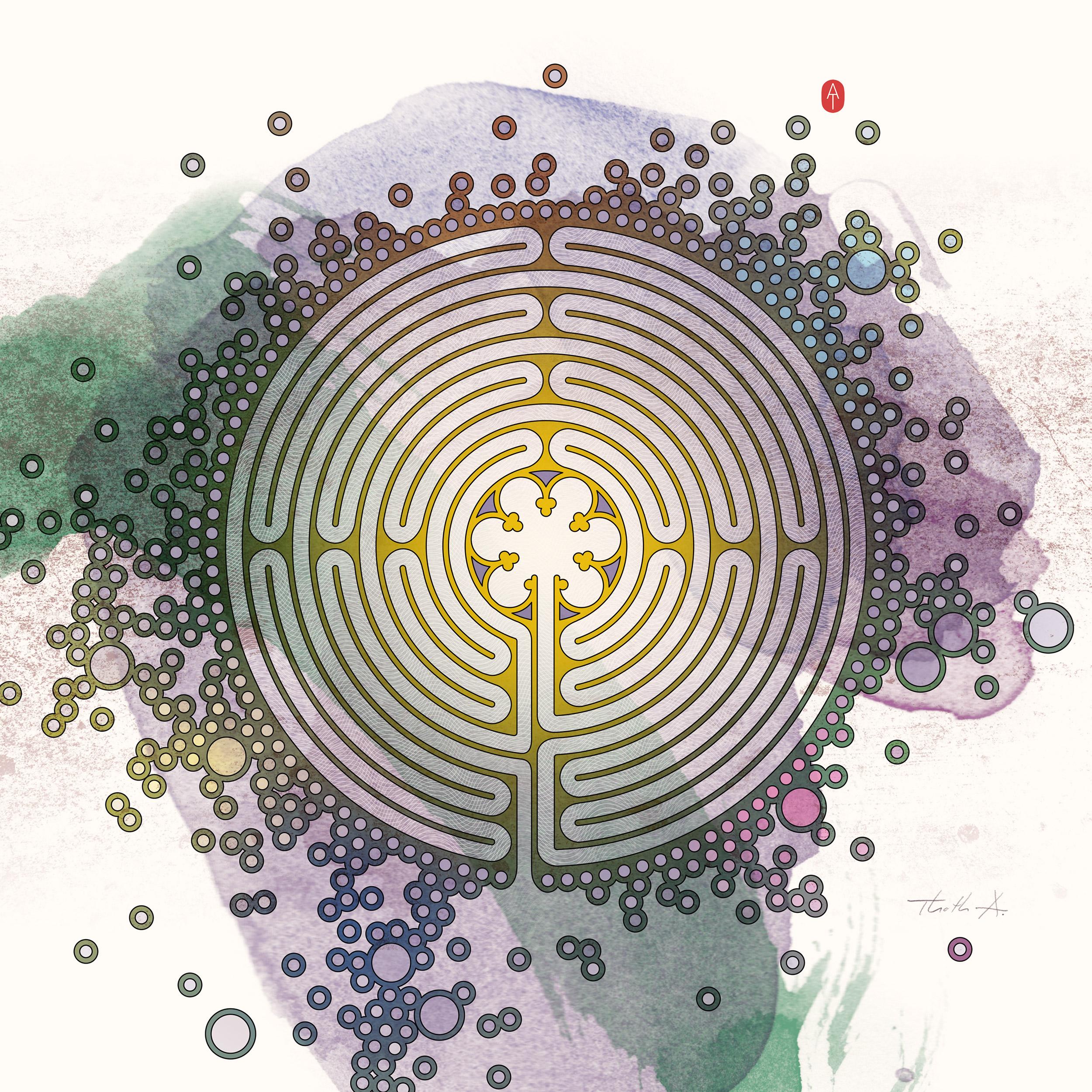 Labyrinth , Purchase prints via  Society6