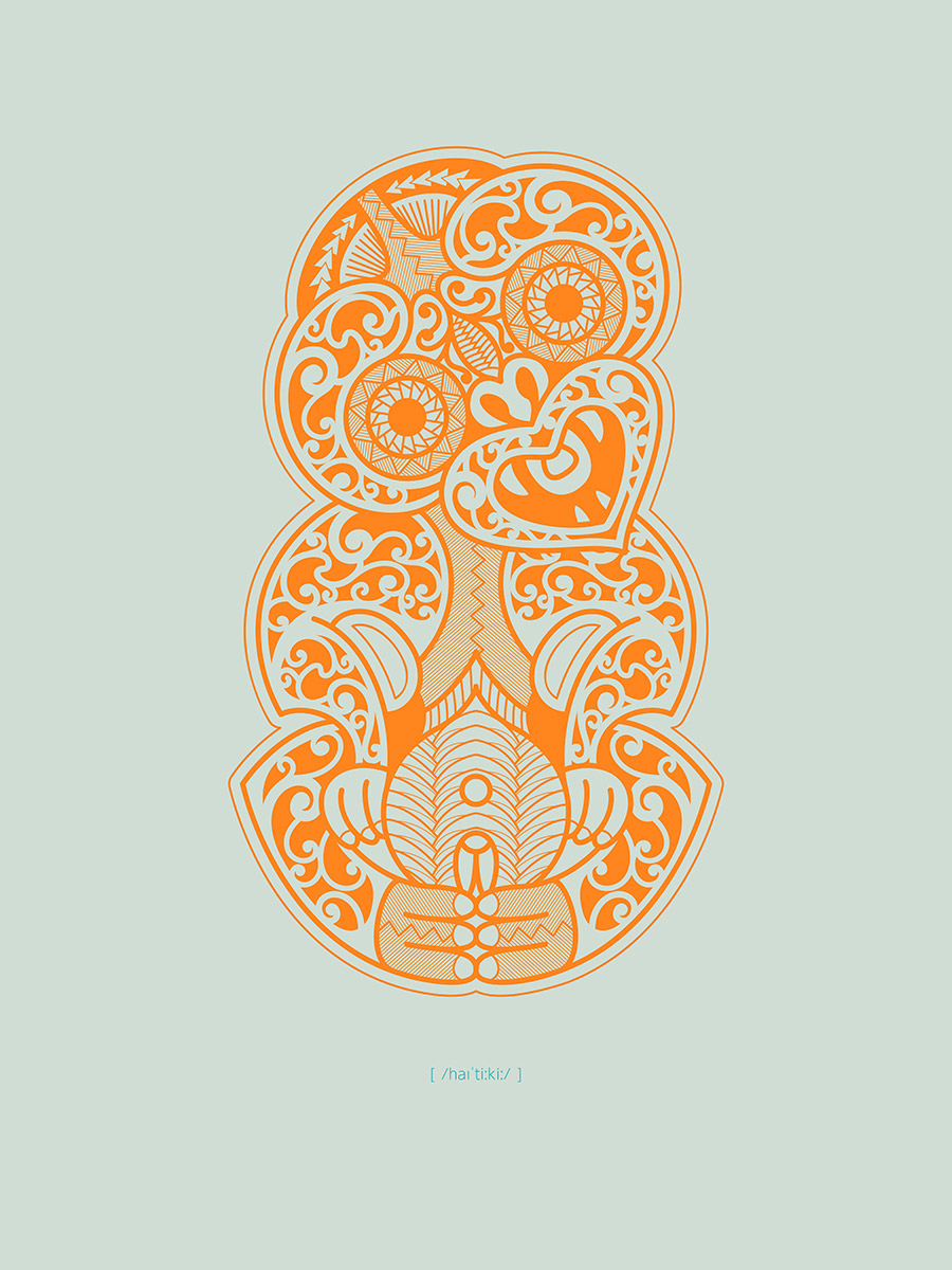 Hei-Tiki , Purchase prints via  Society6