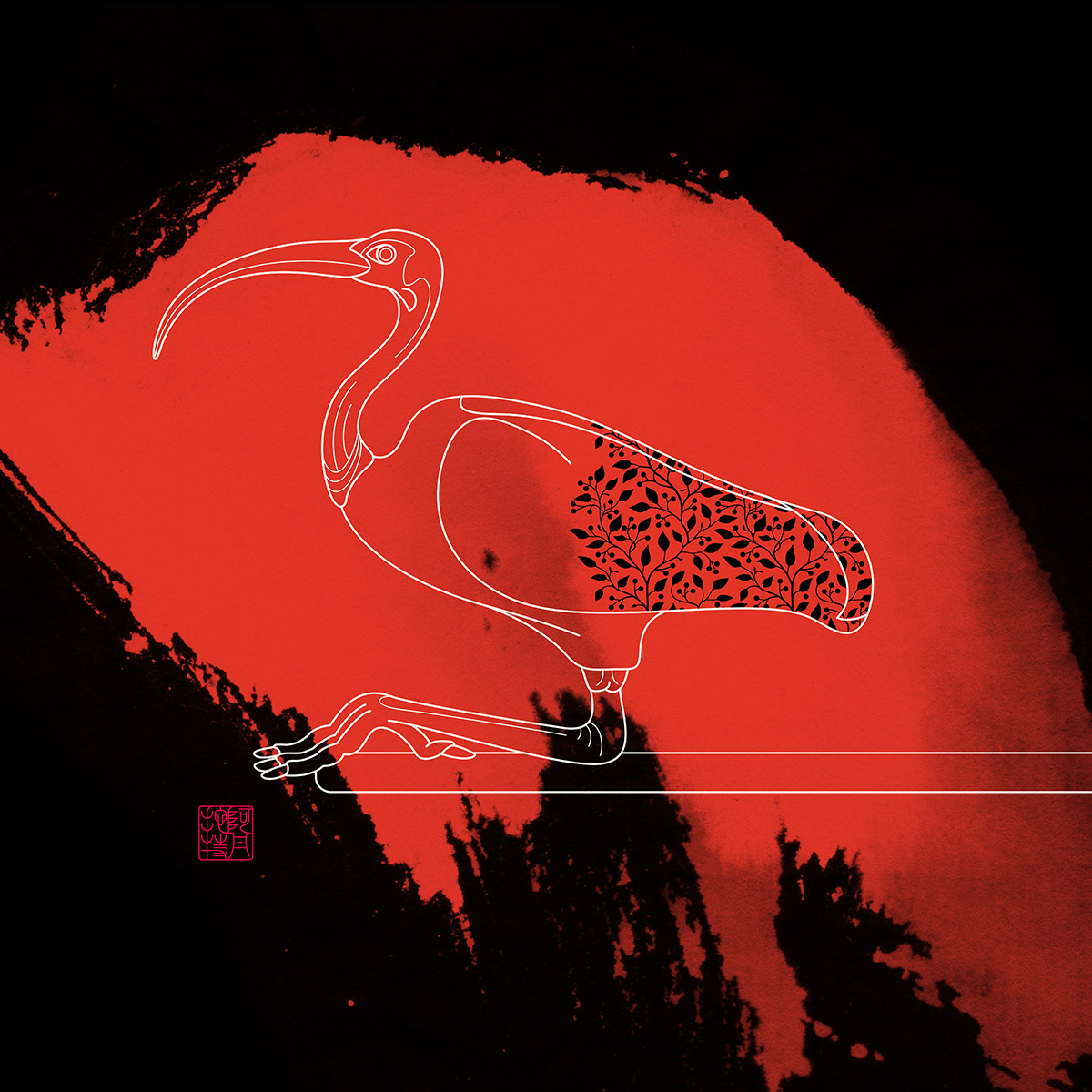 Scarlet Ibis , Purchase prints via  Society6