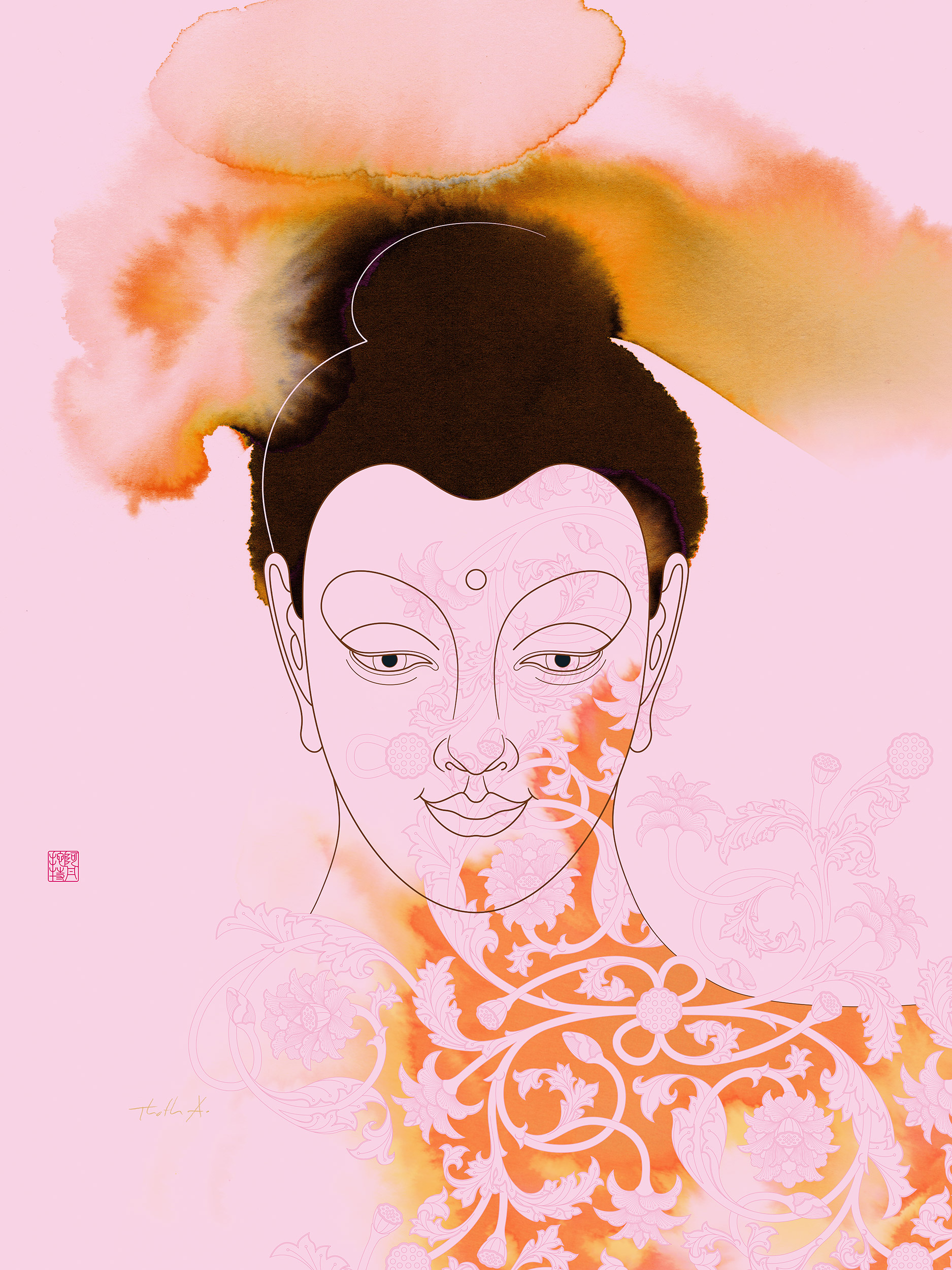 Gautama Buddha , Purchase prints via  Society6