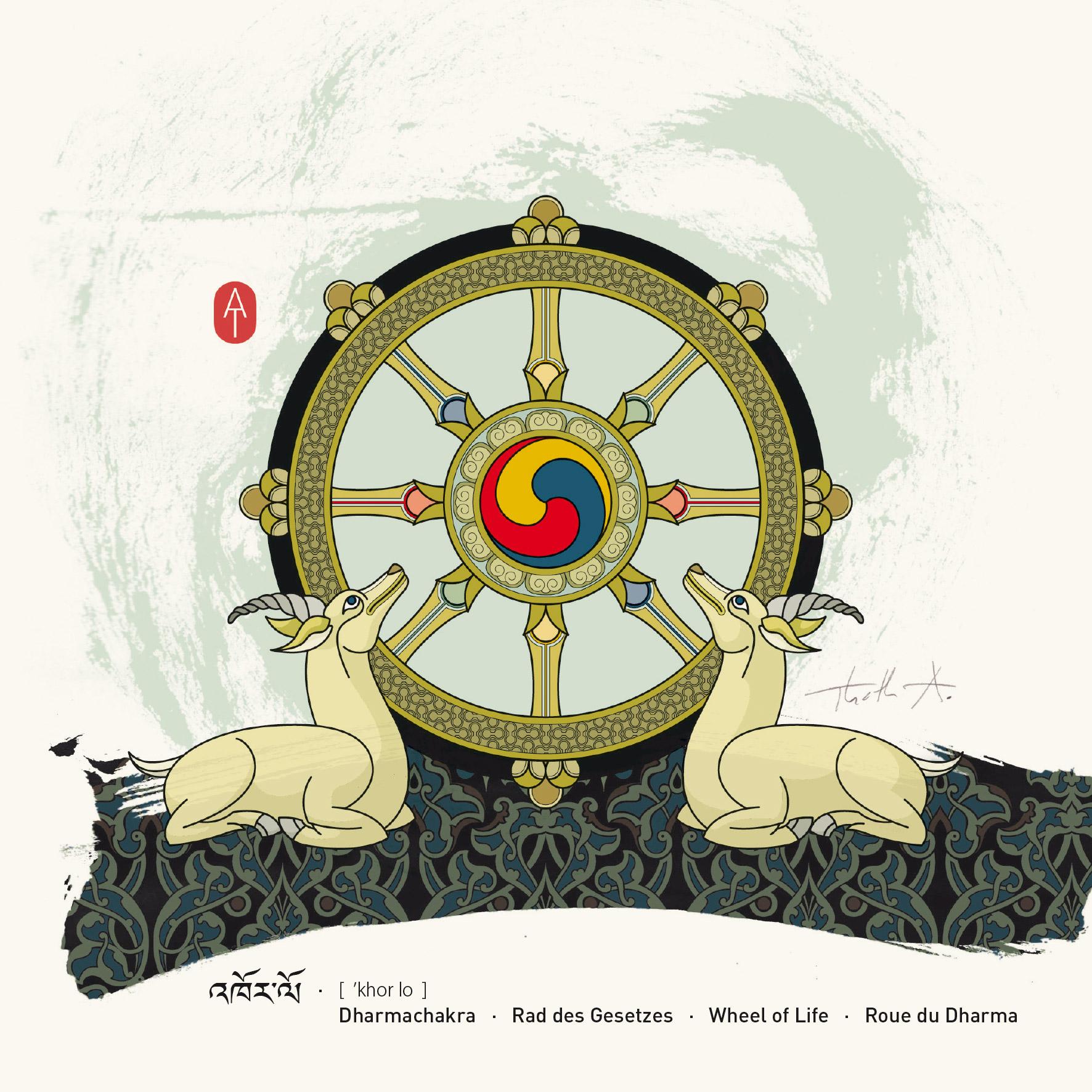 Dharmachakra , Art Card