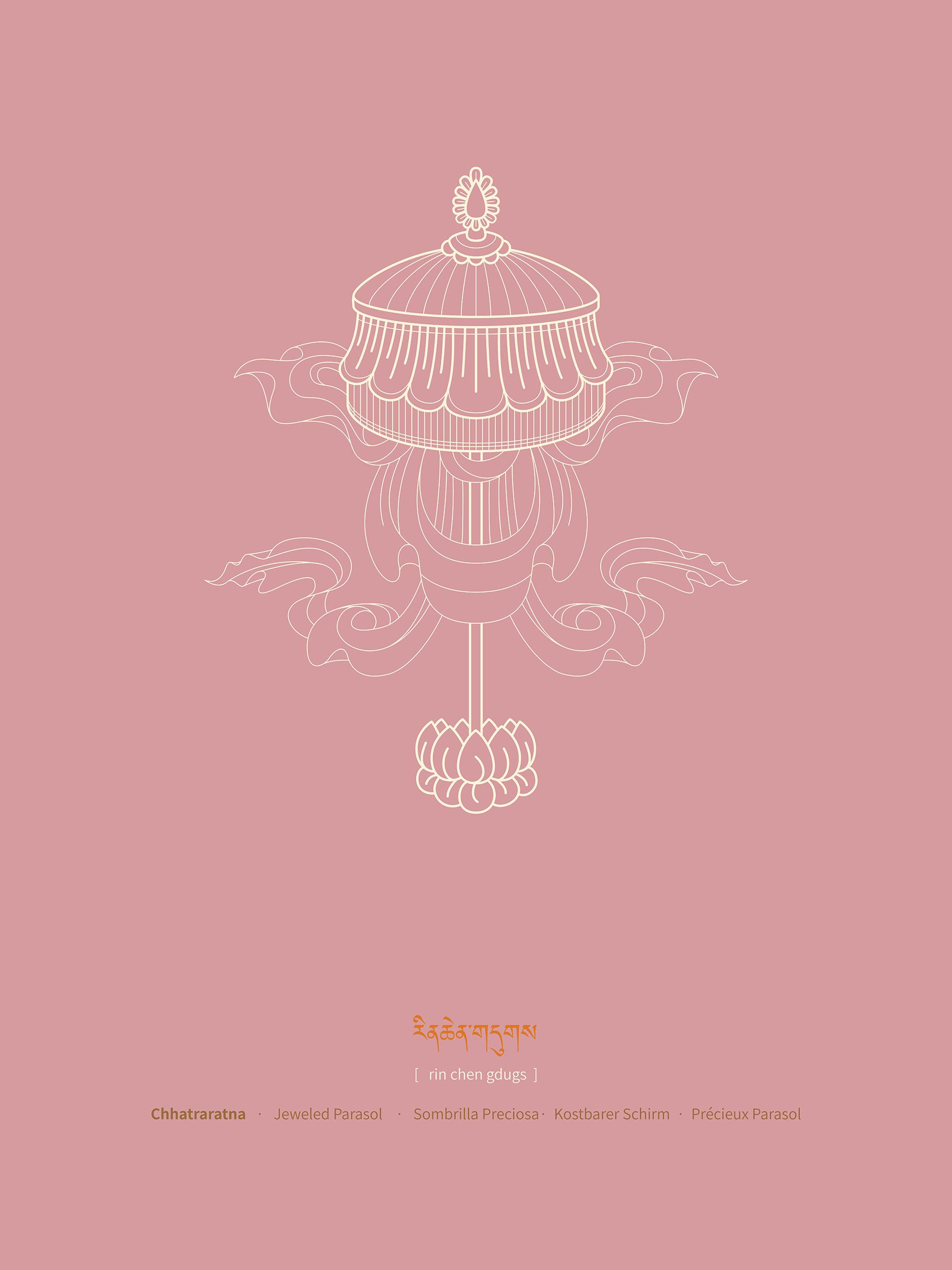 Jeweled Parasol , Purchase prints via  Society6