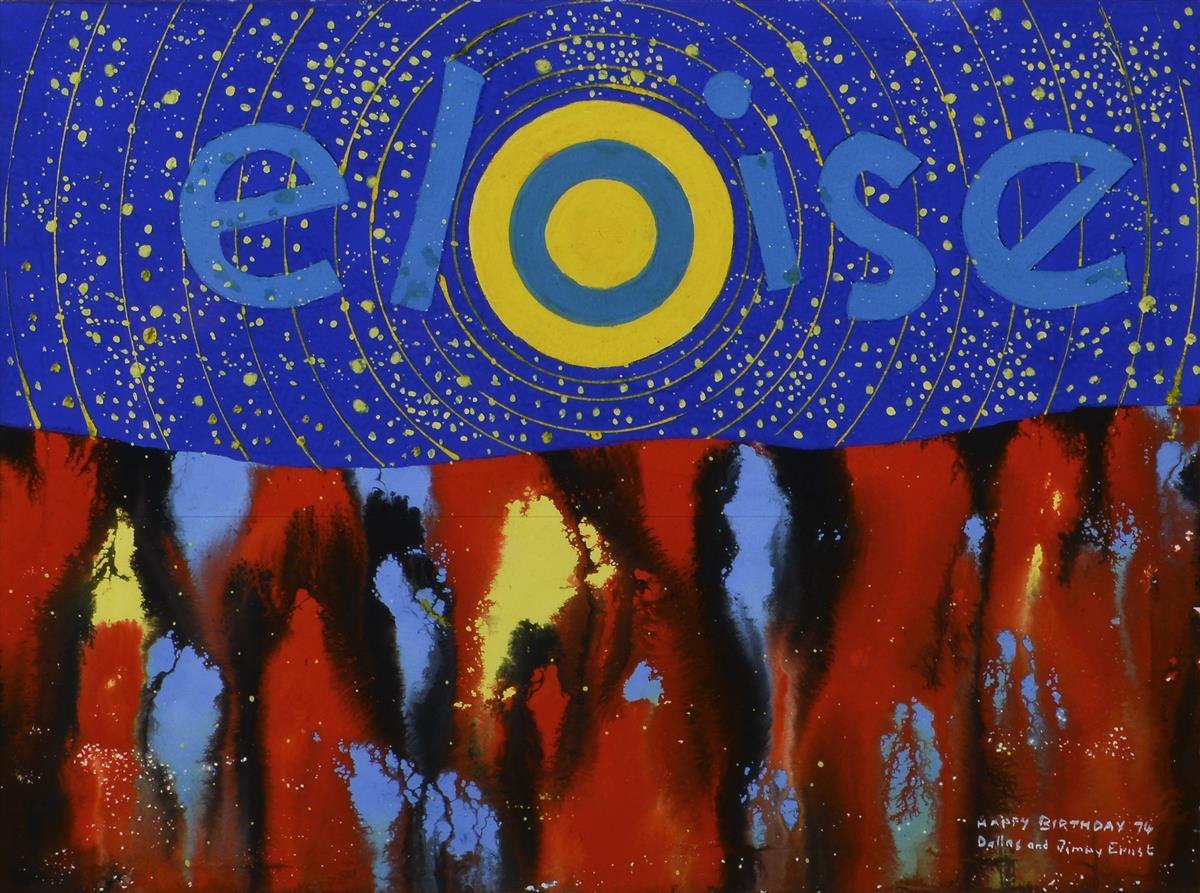 Jimmy Ernst  Ger. 1920-1984  Eloise