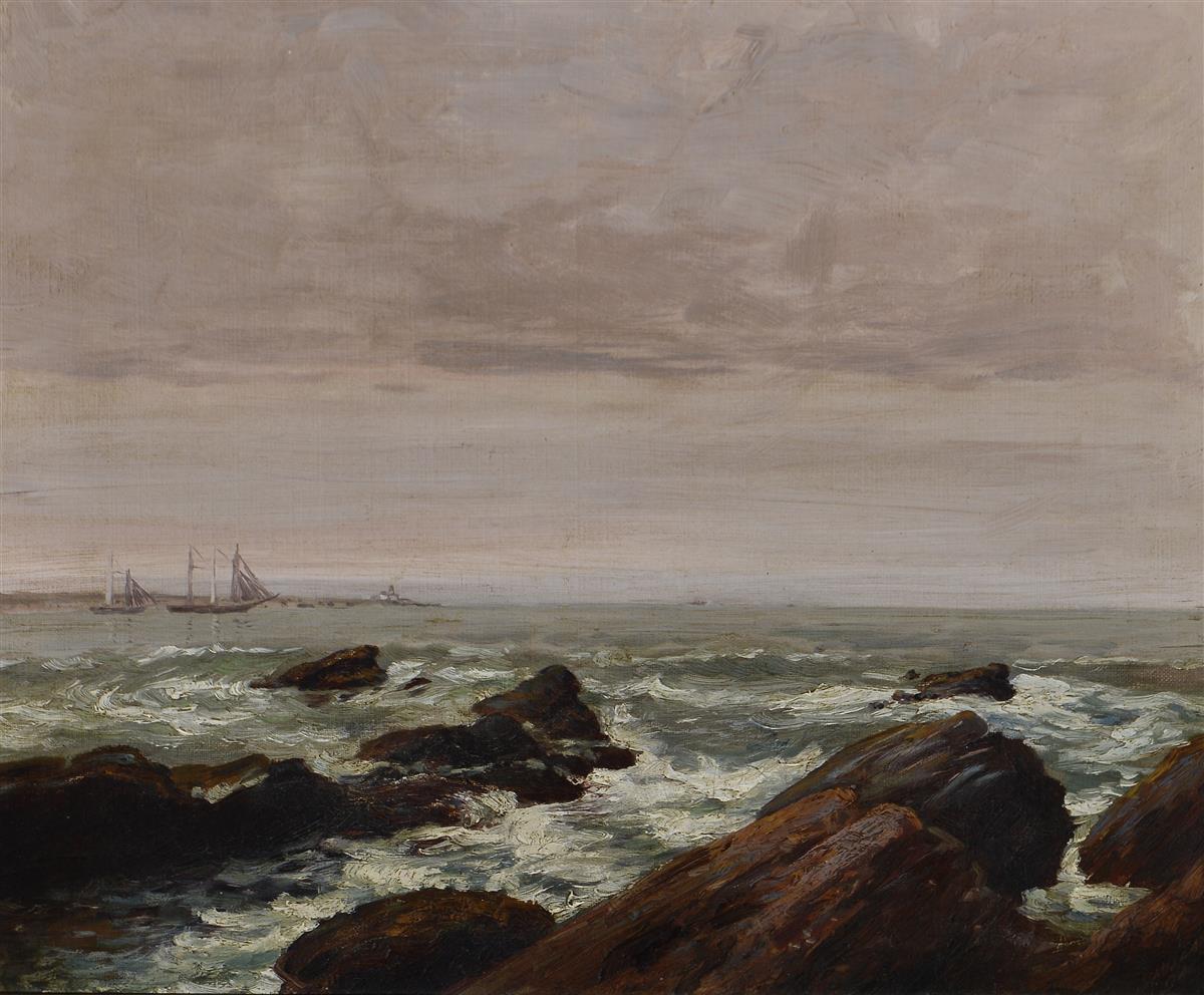 Charles Mielatz  Ger. 1864-1919  Seascape