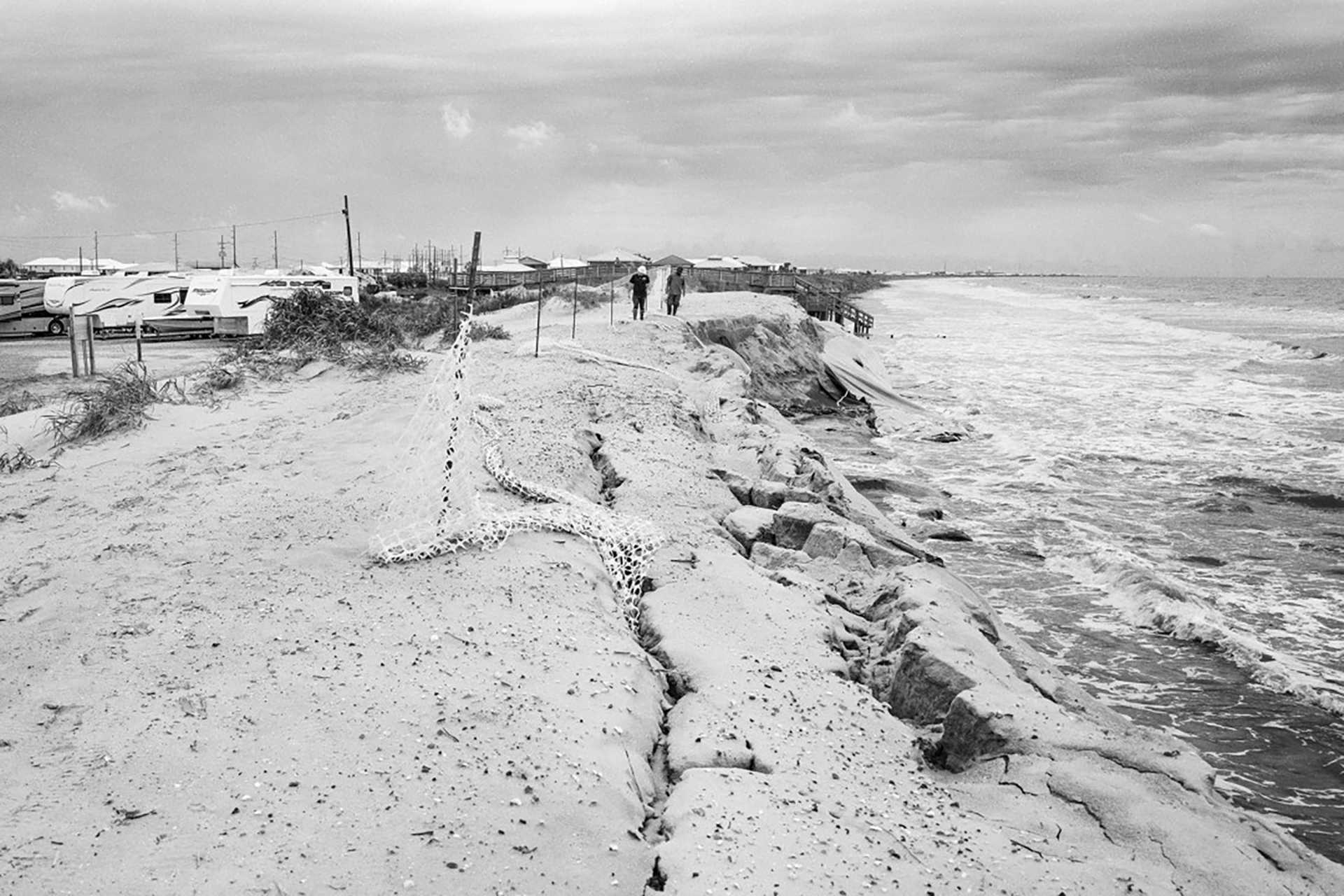 Grand Isle Coastal Erosion, Louisiana