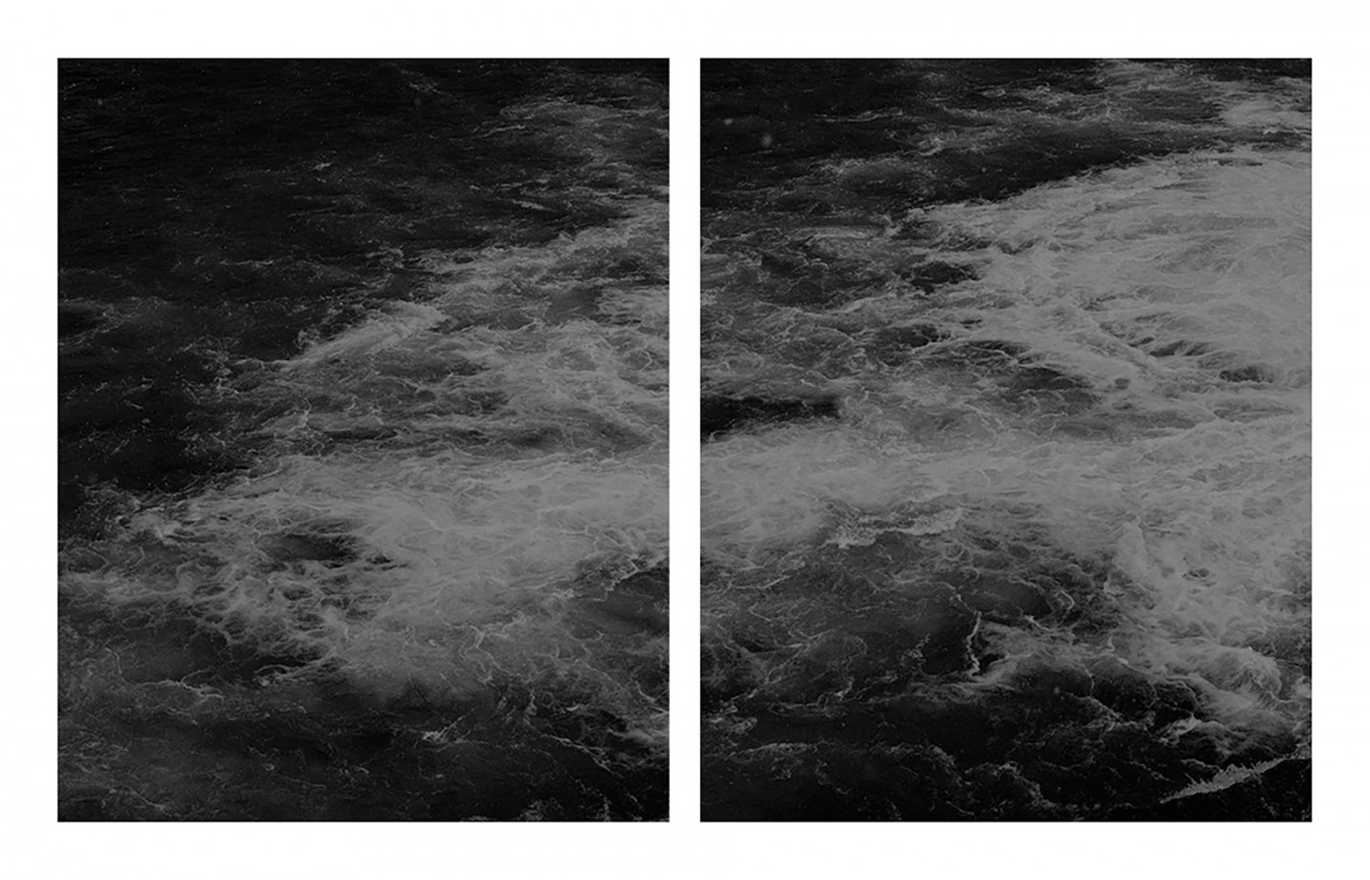 Untitled (water #3 diptych) - Anastasia Davis