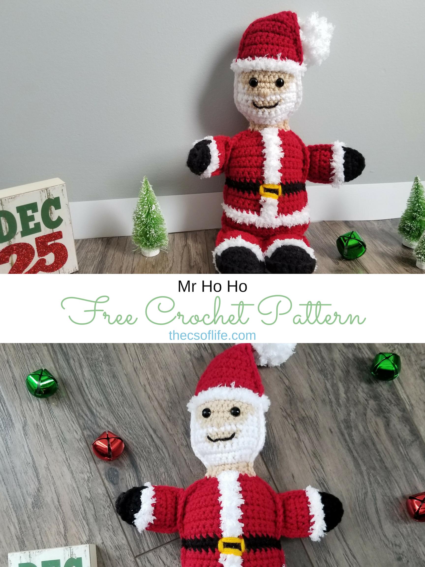 Mr Ho Ho - Free Crochet Pattern