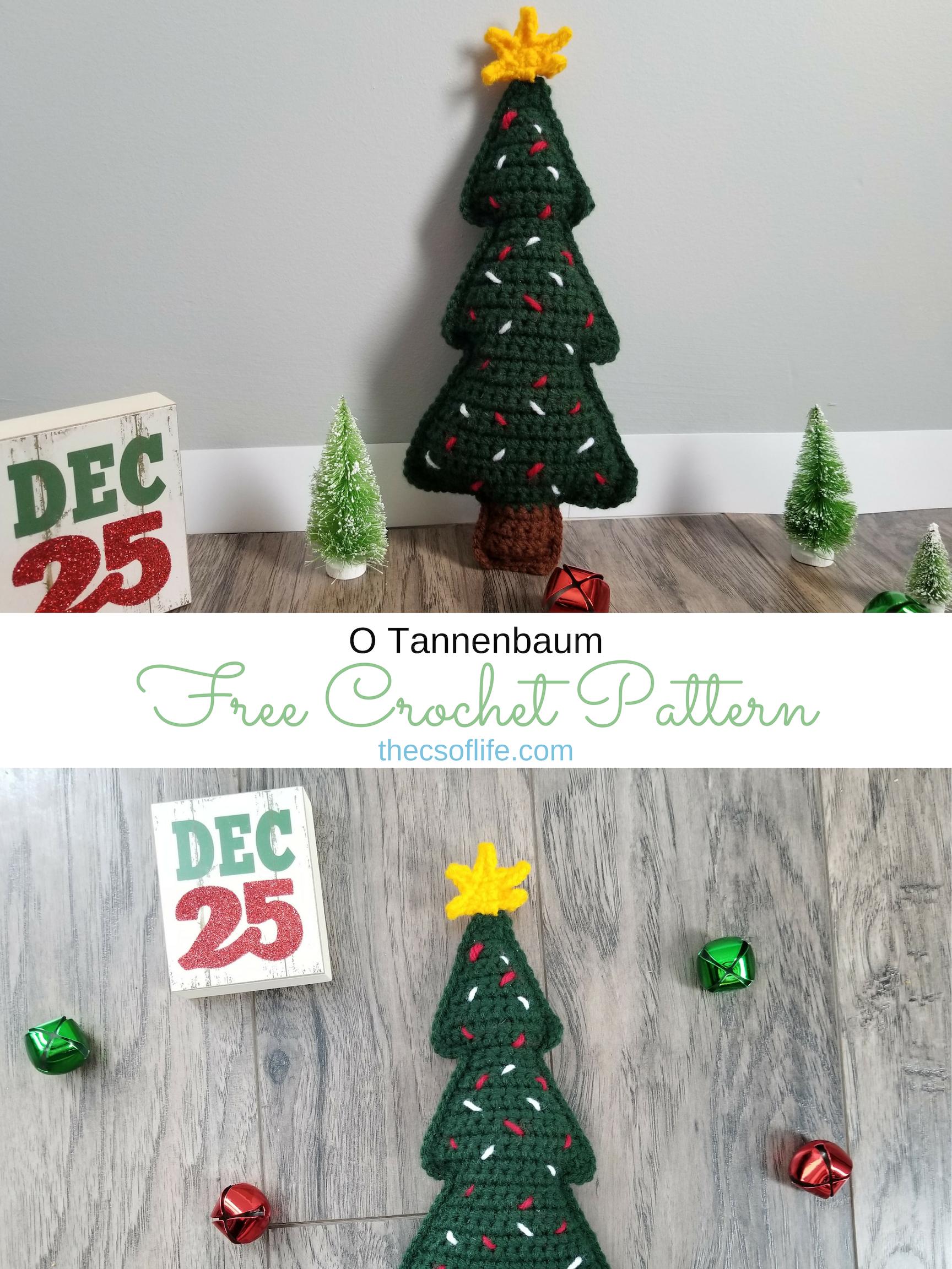 O Tannenbaum - Free Crochet Pattern