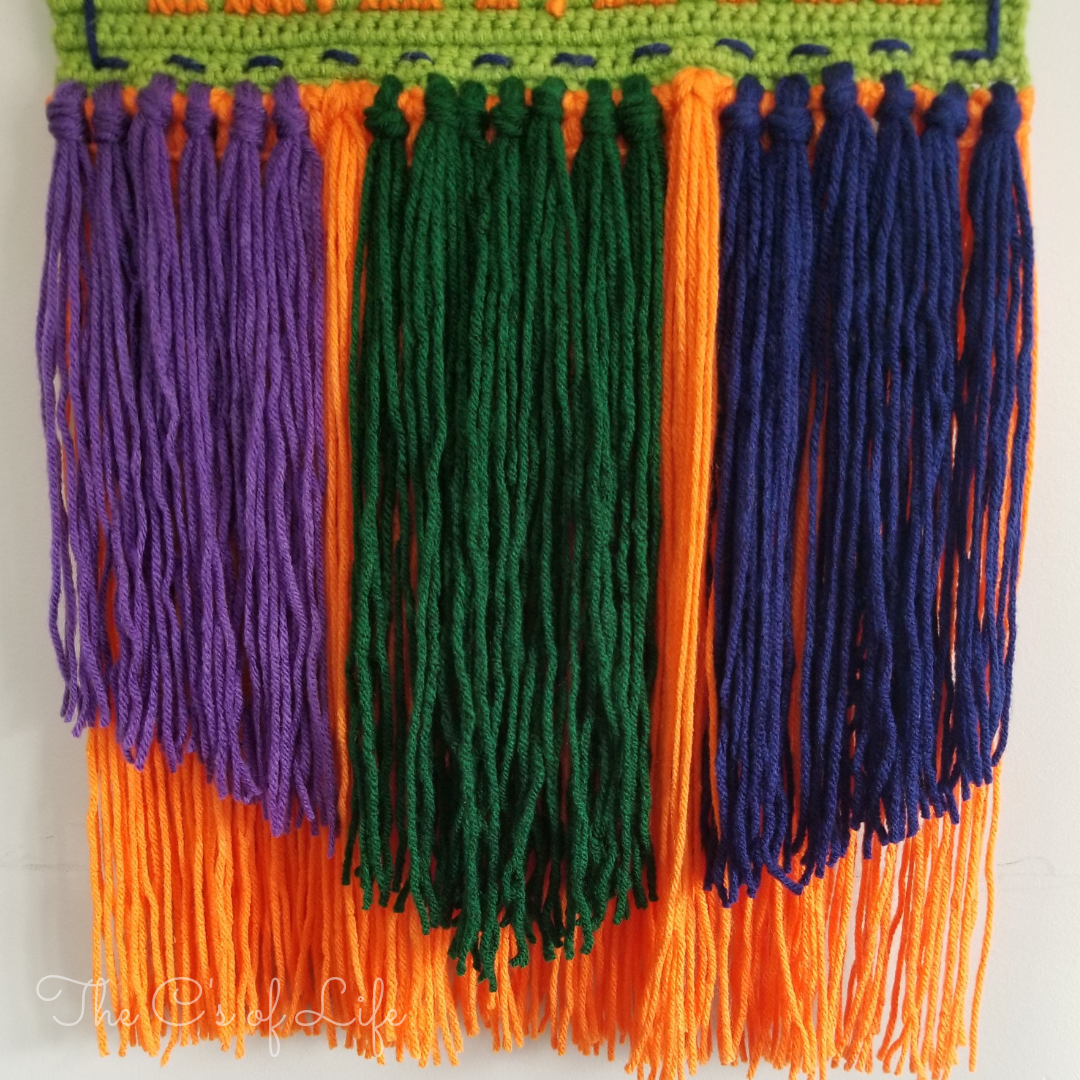 T-Rex Wall Hanging - Free Crochet Pattern