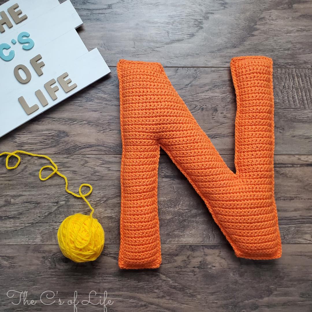 N Stuffie - Free Crochet Pattern