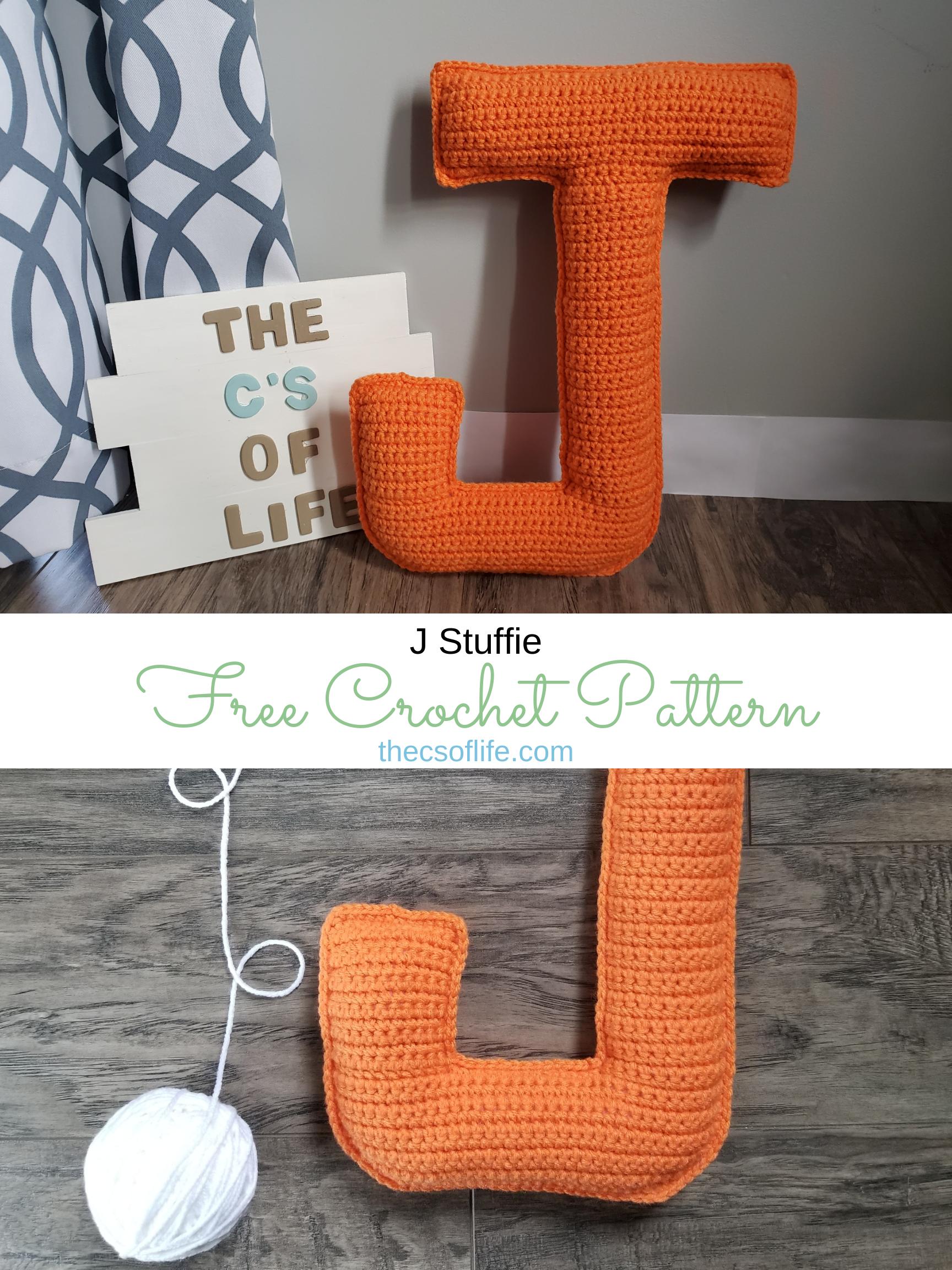J Stuffie - Free Crochet Pattern