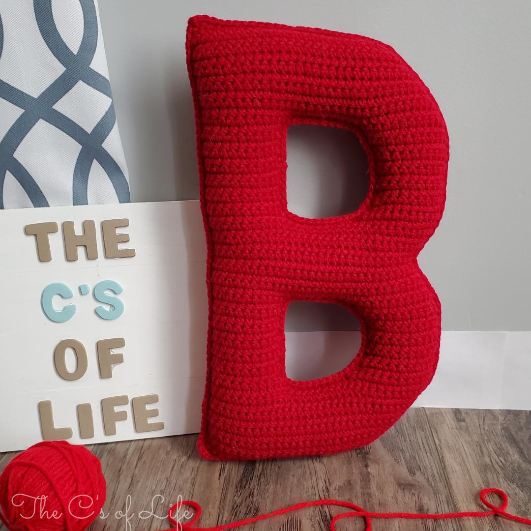 B Stuffie - Free Crochet Pattern