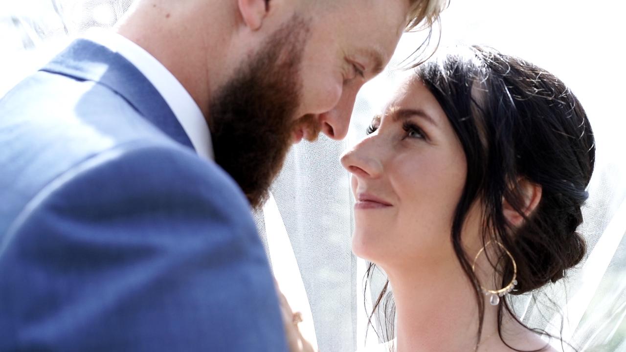 I love you so - ANDREW & MEIKA'S INTIMATE BACKYARD WEDDING in CALGARY ALBERTA