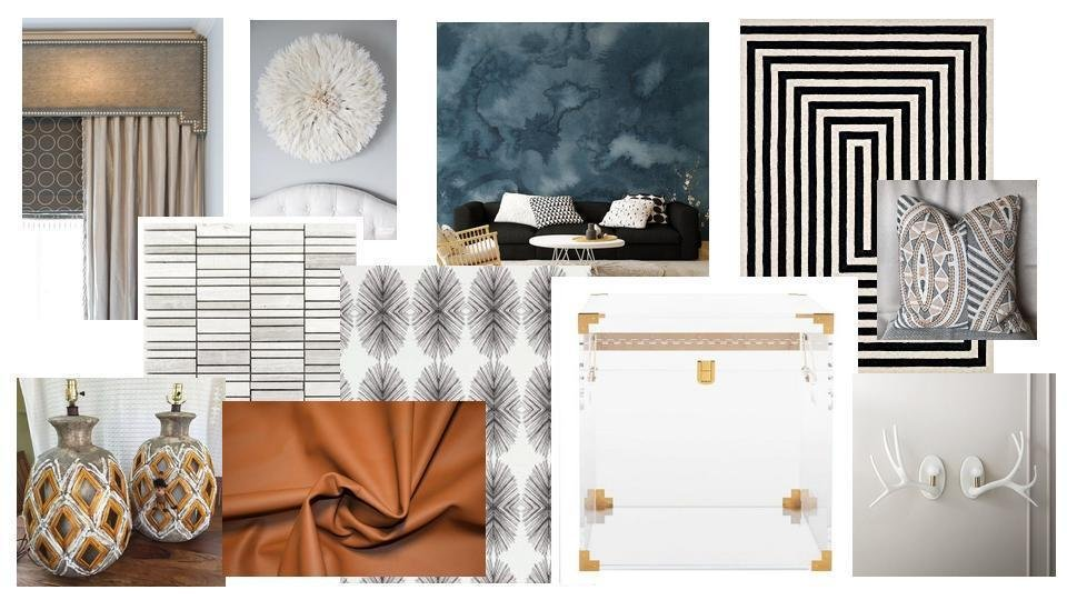 Living room Mood board, copyright Hausmatter
